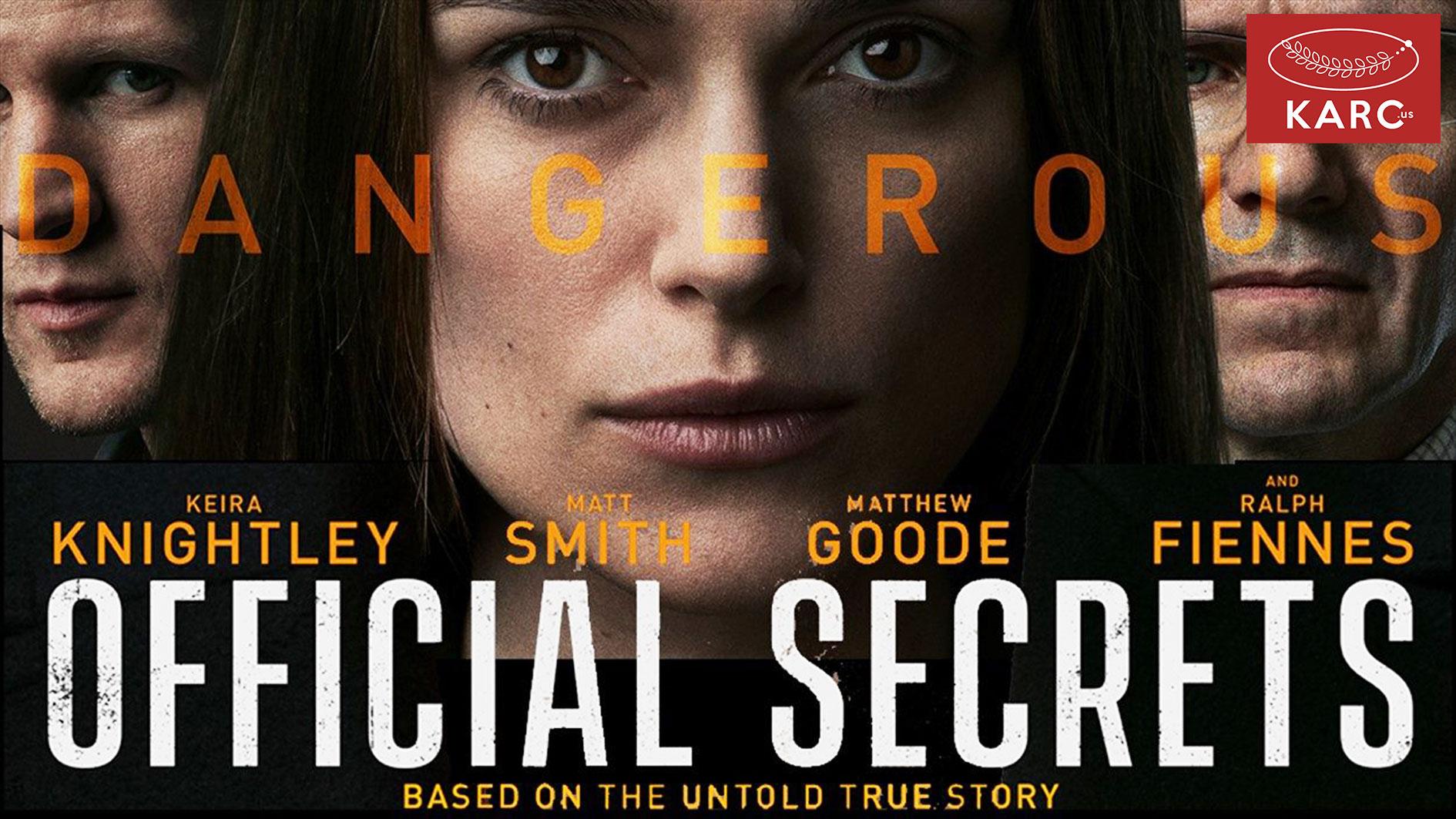 รีวิว Official Secrets รัฐบาลซ่อนเงื่อน ภาพยนตร์ที่สร้างจากเรื่องจริง-Karc.us