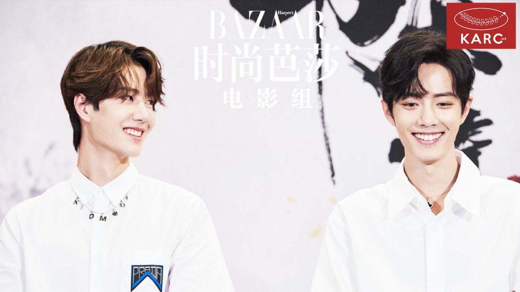 น้องชายอย่างหวังอีป๋อ(Wang  Yibo)งานไหน ๆ ต้องมองพี่ชายด้วยสายตาหวานเยิ้ม   - Karc.us