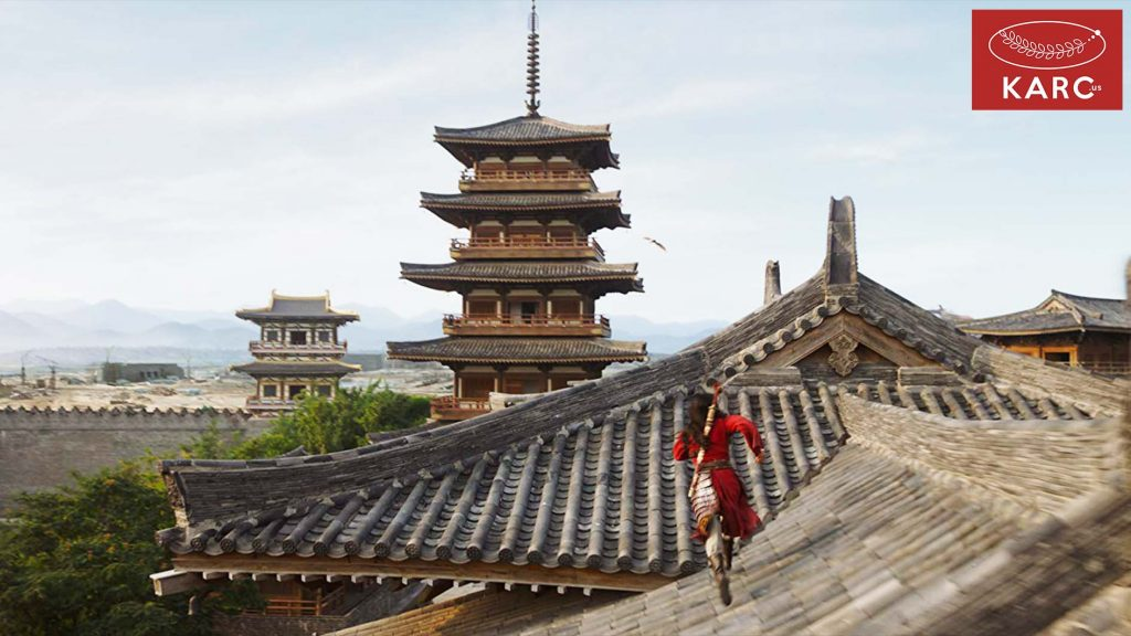 การดัดแปลงมาจากกวีพื้นบ้านโบราณของประเทศจีน เรื่อง The Ballad of Mulan ซึ่งจะไม่ใช่ Mulan 1998 - Karc.us