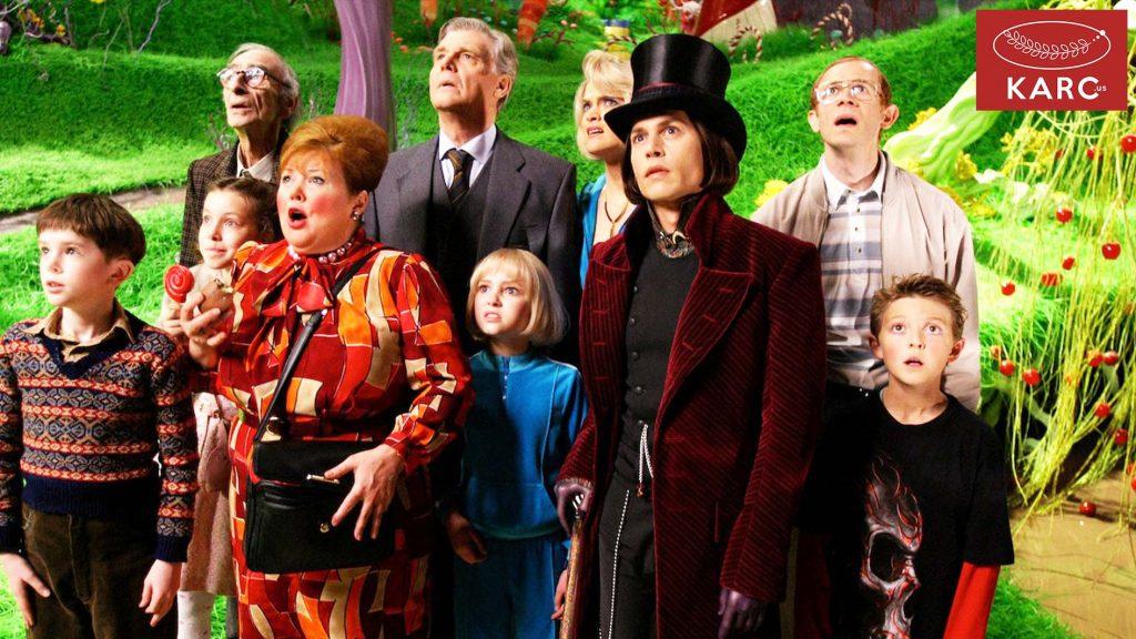 เรื่องราวของ Charlie and the Chocolate Factory  หรือ ชาร์ลีกับโรงงานช็อกโกแลต  - Karc.us