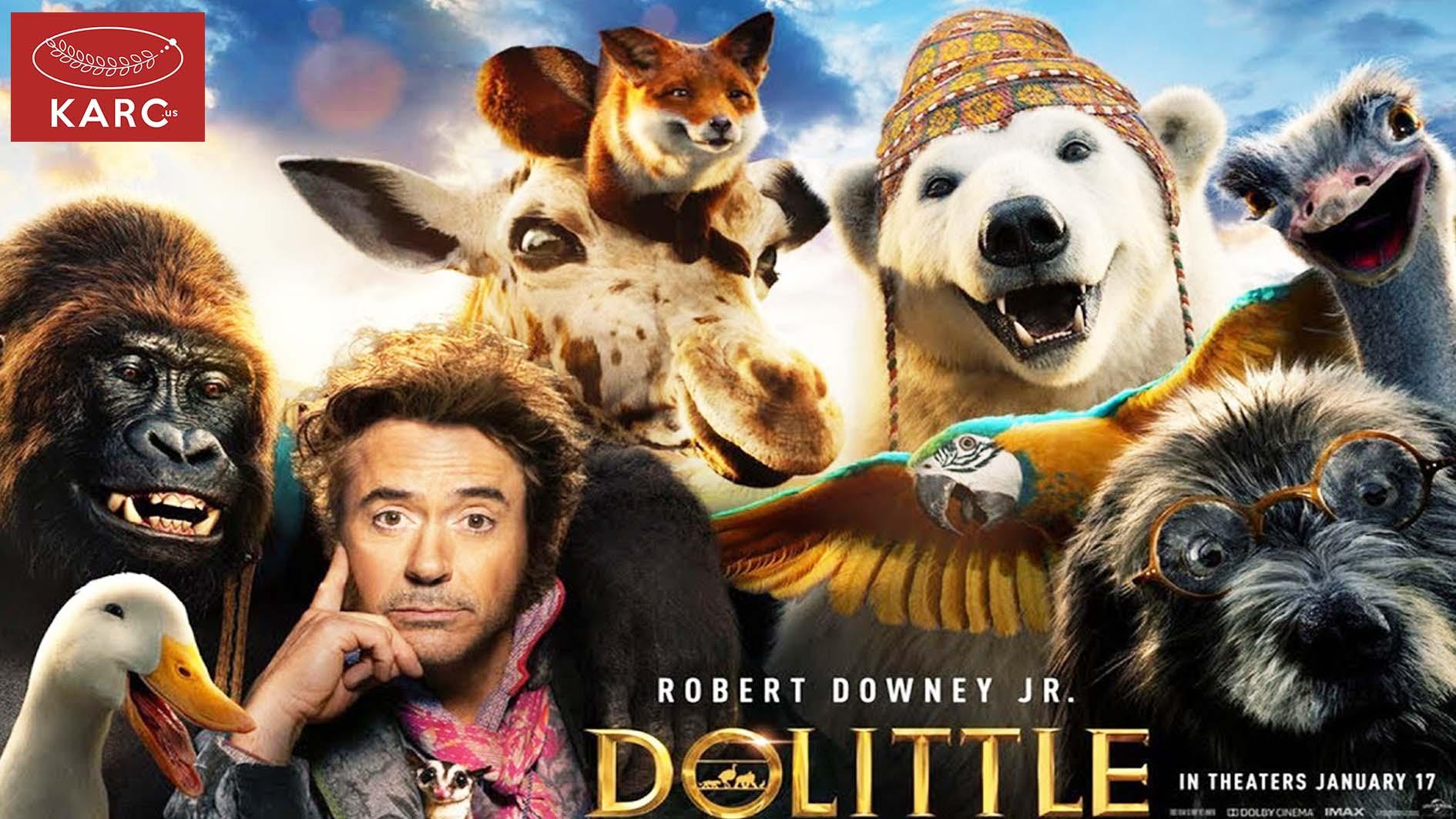 เตรียมพร้อมกับ Dolittle ภายใต้บทบาทการแสดงของ Downey Jr. karc.us , วงการภาพยนต์ , แนะนำหนังดี , แนะนำหนังน่าดูหนังน่าดู , รีวิวหนังใหม่ , ก่อนตายต้องได้ดู! , ข่าวดารา , ข่าวเด่นประเด็นร้อน , รีวิวหนังใหม่ , หนังดังในอดีต
