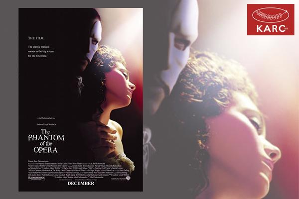 """""""The Phantom Of The Opera"""" ภาพยนตร์เพลงแนวลึกลับแสนโรแมนติก วงการภาพยนต์ , แนะนำหนังดี , แนะนำหนังน่าดู , หนังน่าดู , รีวิวหนังใหม่ , ข่าวดารา"""