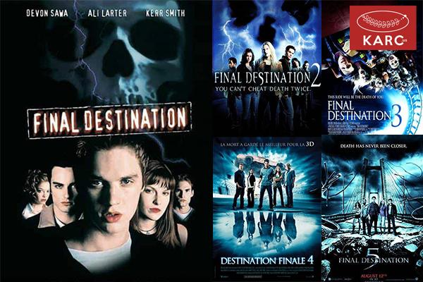 เปิดความหลอนระทึกรับปีใหม่กับการโกงความตาย ในหนังชุด Final Destination วงการภาพยนต์ , แนะนำหนังดี , แนะนำหนังน่าดู , หนังน่าดู , รีวิวหนังใหม่ , ข่าวดารา