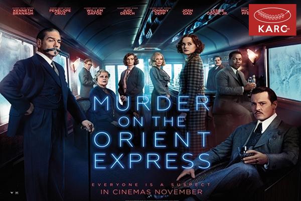 Murder on the Orient Express หนังที่ดัดแปลงมาจากนิยายดังของ อากาธา คริสตี้ วงการภาพยนต์ , แนะนำหนังดี , แนะนำหนังน่าดู , หนังน่าดู , รีวิวหนังใหม่ , ข่าวดารา